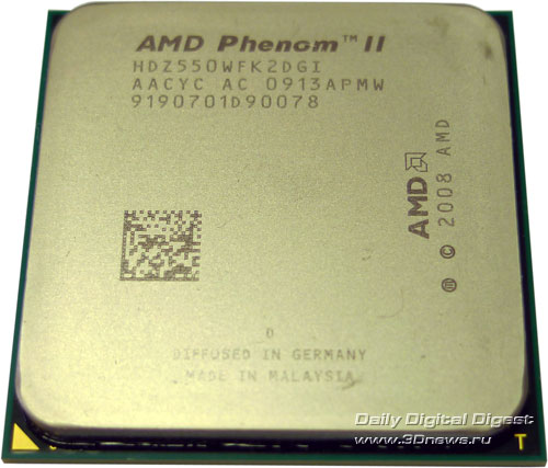 Phenom II X2 550 Black Edition